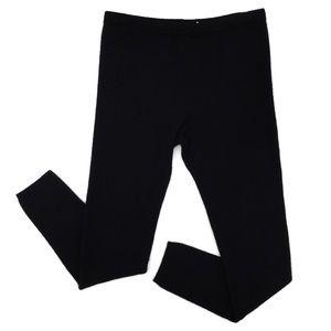 Calvin Klein Black Women's Pull on Cashmere Pants